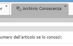 Archivio Conoscenza